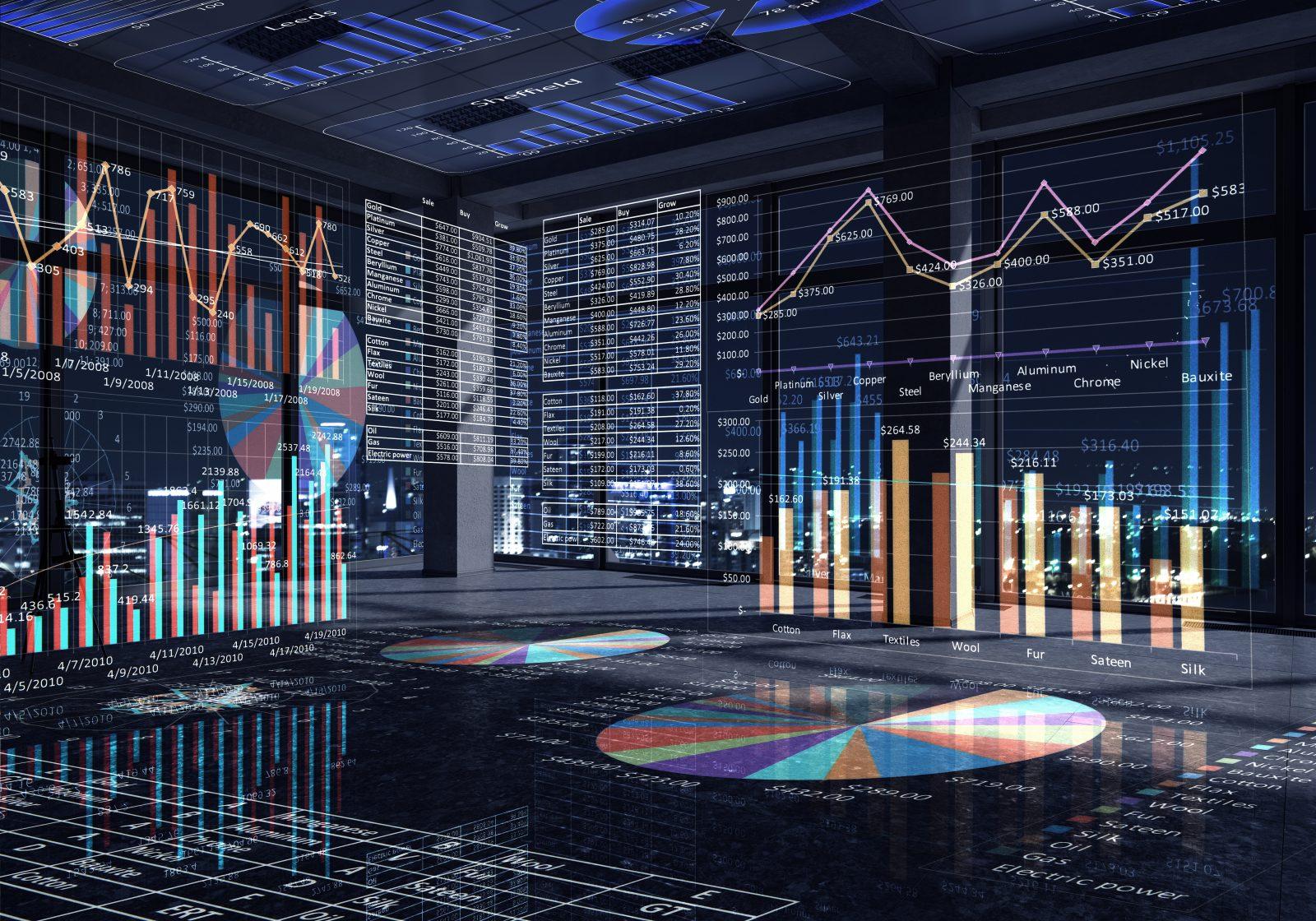 Alteryx Aktie investieren - Bild mit Diagrammen und Daten zur Datenanalyse