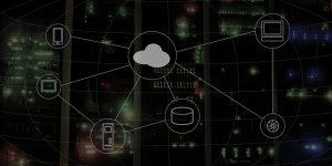 Twilio Aktie investieren - Bild von Cloud System mit Symbolen - Beitragsbild