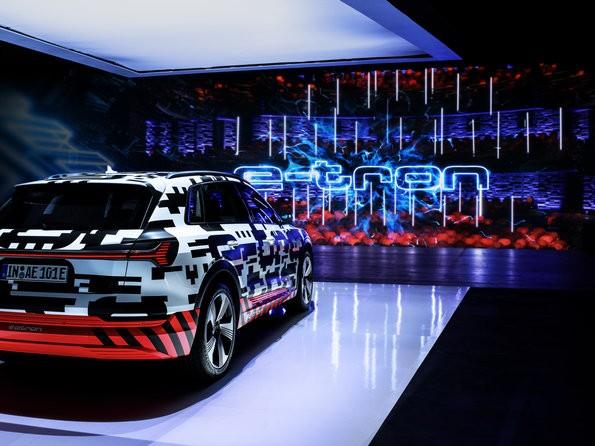 VW Aktie - Audi E Tron als Prototyp