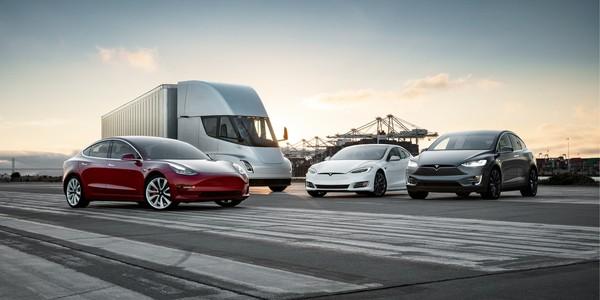 Tesla Aktie investieren - Die Fahrzeug Flotte von Tesla