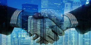 Hortonworks und Cloudera Fusion Handschlag