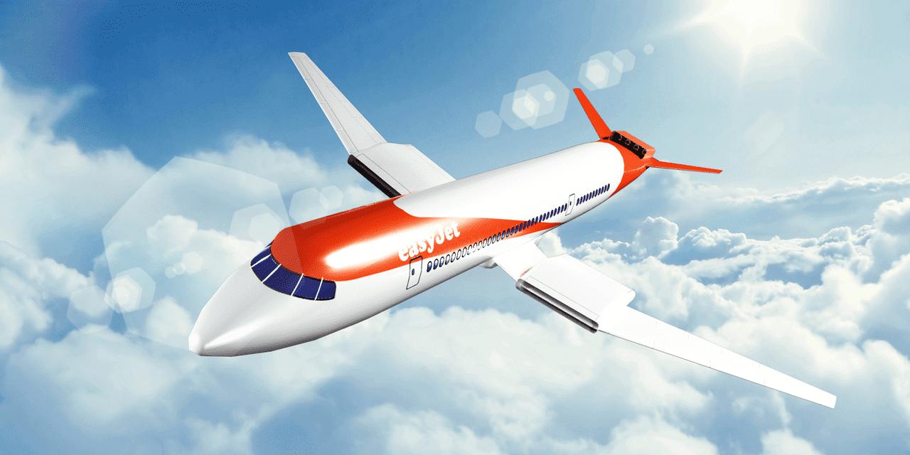 EasyJet Aktie Update Geschäftsjahreszahlen 2018 - easyJet Flugzeug