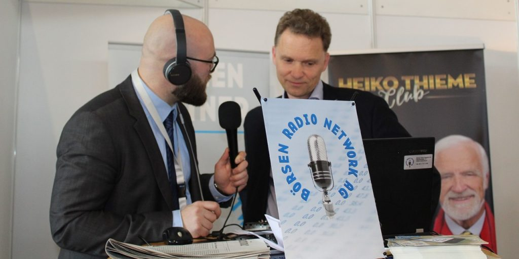 Stefan Waldhauser im Interview beim Börsenradio auf der Invest 2019 - The DLF Digital Leaders Fund
