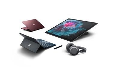 Bild der Microsoft Surface Familie