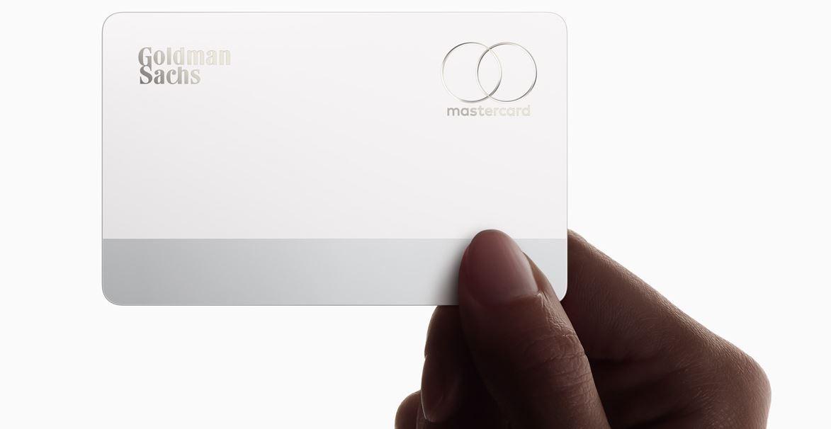 Goldman Sachs - Wie Goldman und Apple Retailbanking aufmischen - Bild der Apple Card mit Goldman Sachs Logo