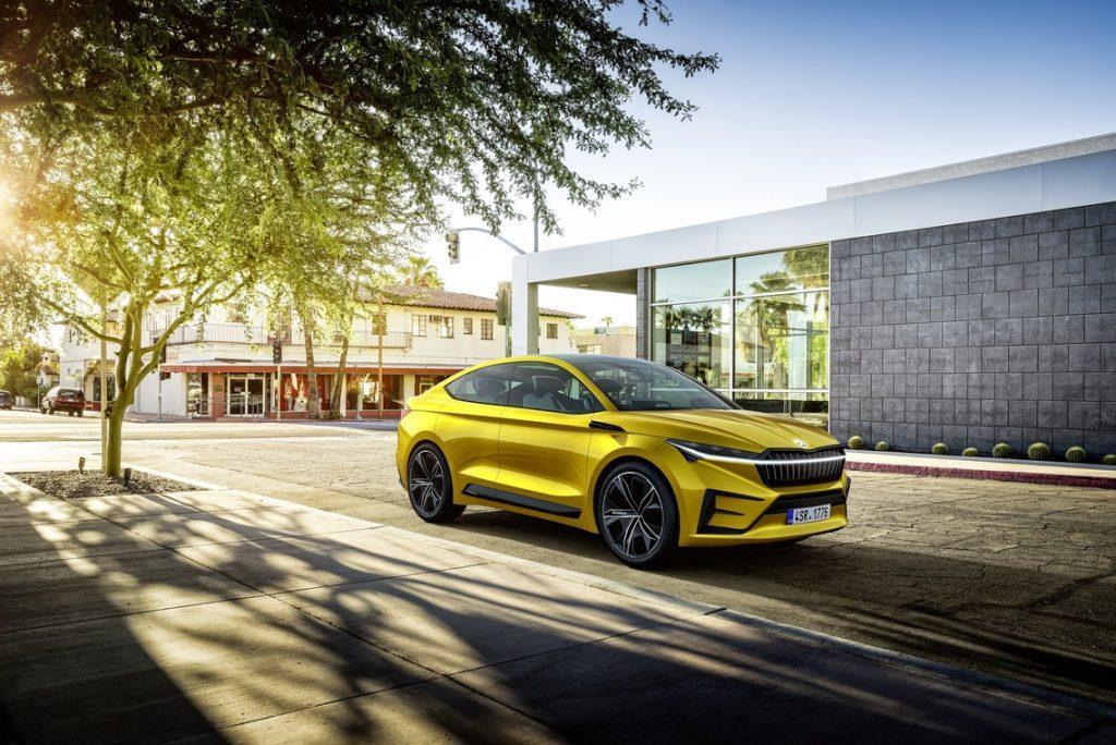 Investieren in VW Konzern - Skoda Vision iV