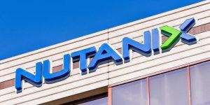 Nutanix Aktie Zahlen Q4 2019 - Bild vom Logo auf dem Firmengebäude