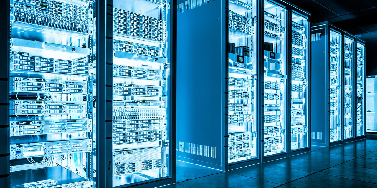 Pure Storage Q2 2019 - Bild von Daten Zentrum