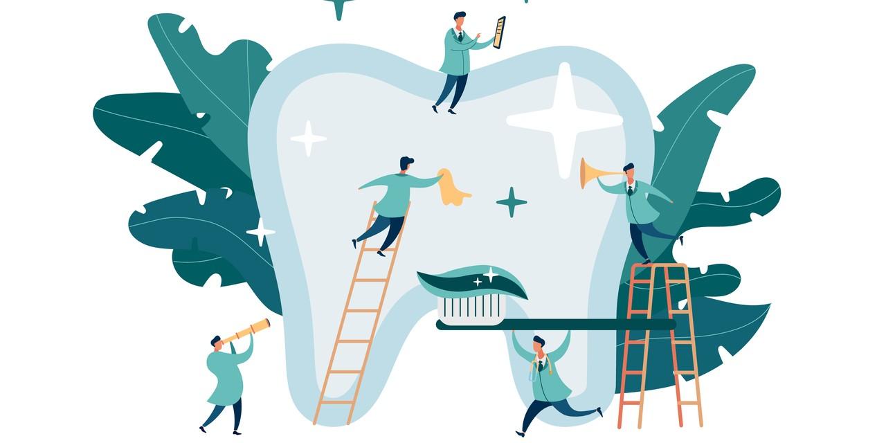 Straumann Group Aktie - Illustration Zahnpflege Implantat Digital