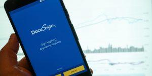 DocuSign App im Einsatz