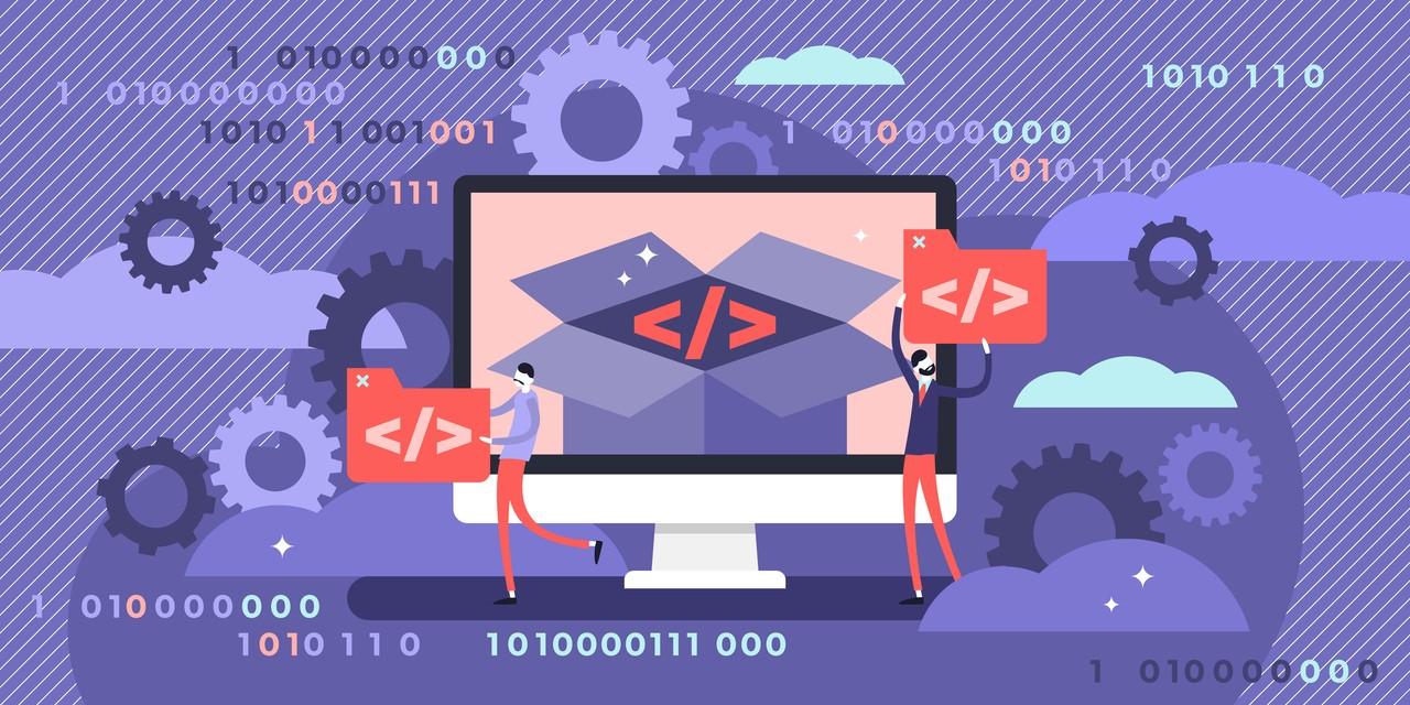 Open Source Erfolgsfaktor Softwareindustrie - Illustration