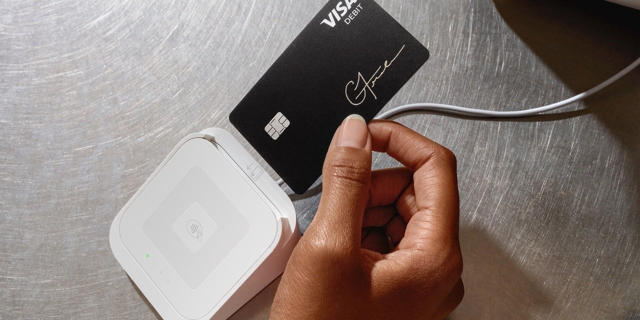 Square Cash App Counter im Einsatz