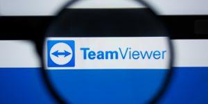 TeamViewer Aktie IPO - Börsengang - Logo mit Lupe