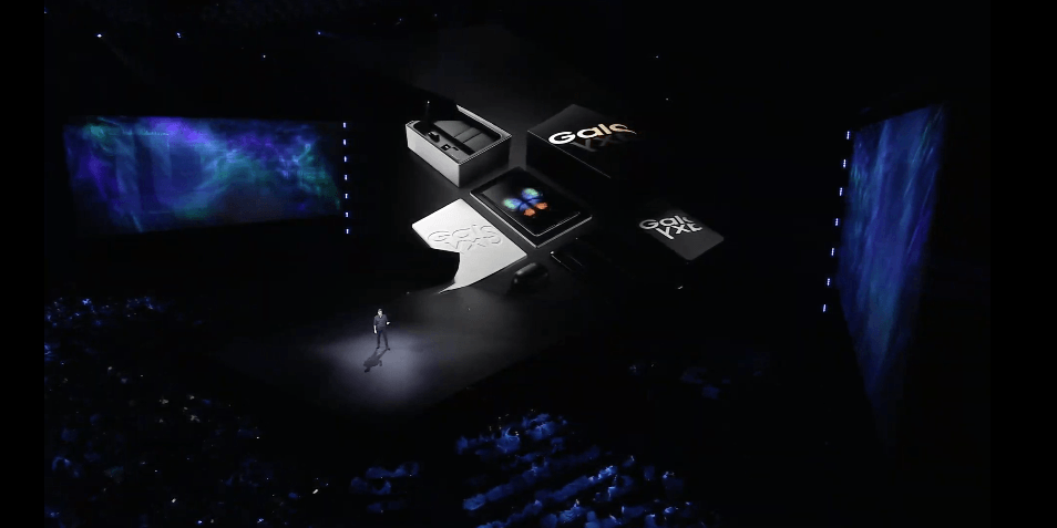 Samsung Electronics - Galaxy Fold Präsentation
