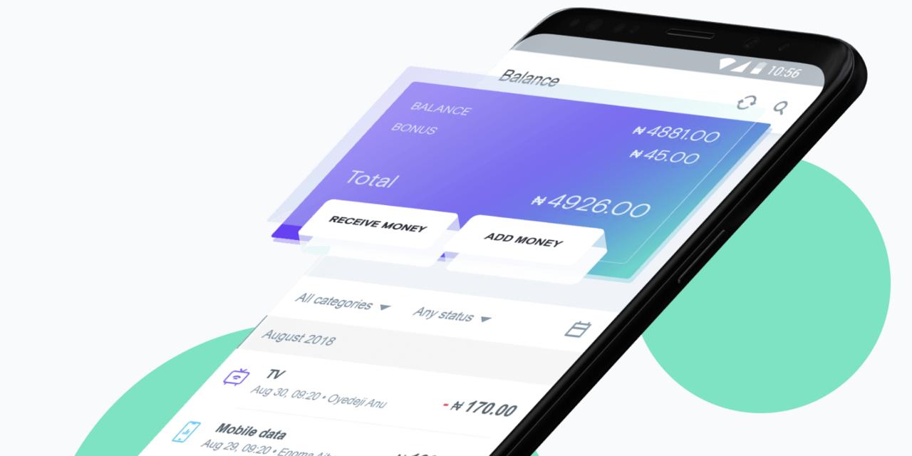 Opera OPay App im Einsatz