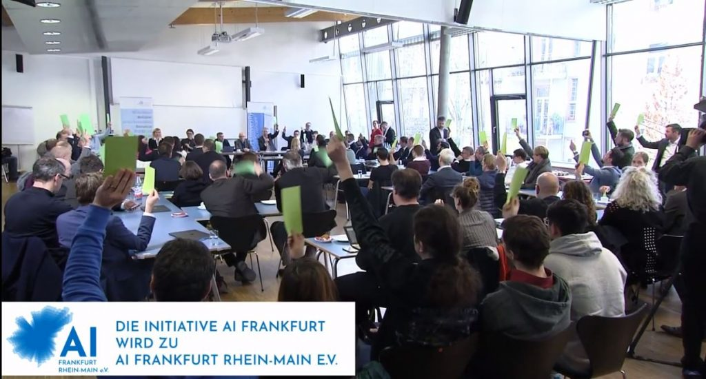 KI Aktien - Video AI Frankfurt Rhein-Main eV - Abstimmung