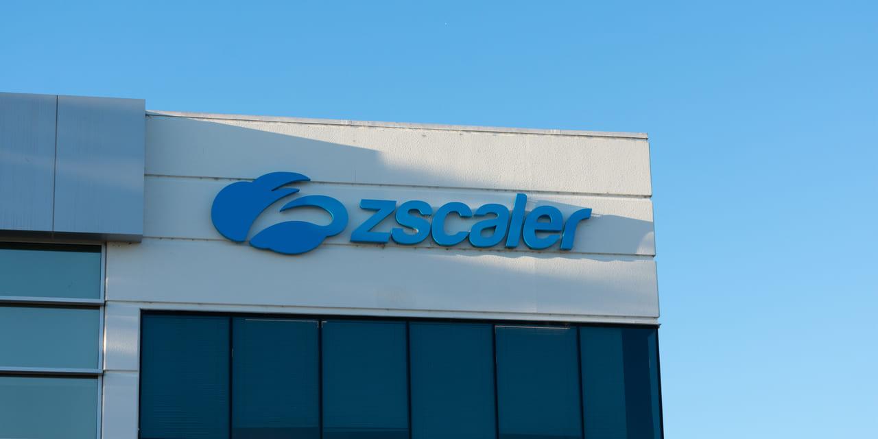 Zscaler Quartalszahlen Q1 FY2020 - Logo auf Firmengebäude