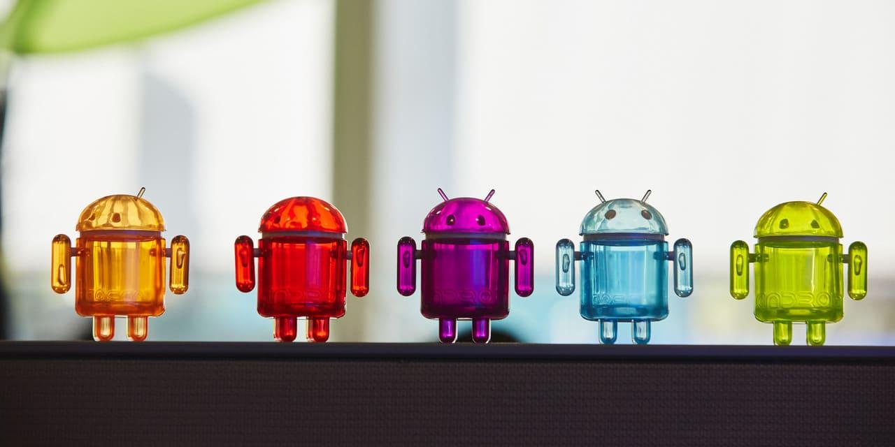 Alphabet Aktie - Bild von Android Männchen