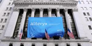 Alteryx Aktie - Bild von Alteryx Banner an NYSE