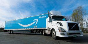 Amazon Aktie Kursexplosion - Bild von Amazon Prime Truck