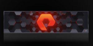 Pure Storage Aktie im Crash - Pleitekandidat oder Kaufgelegenheit - Bild von Speicher mit Logo