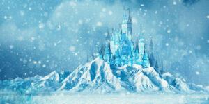 Disney Aktie - Streaming-Push nach Corona-Pandemie - Eingefrorenes Schloss auf Eisberg