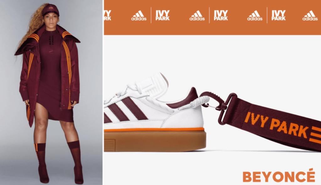 Adidas Sneaker und Streetwear Kampagne mit Beyonce