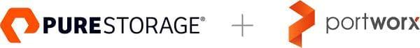 Logo Pure Storage und Portworx