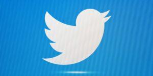 Twitter Aktie - Unternehmen im Umbruch - Bild von Twitter Vogel auf blauem Hintergrund