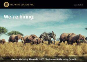 We're hiring: Inbound Marketing Allrounder