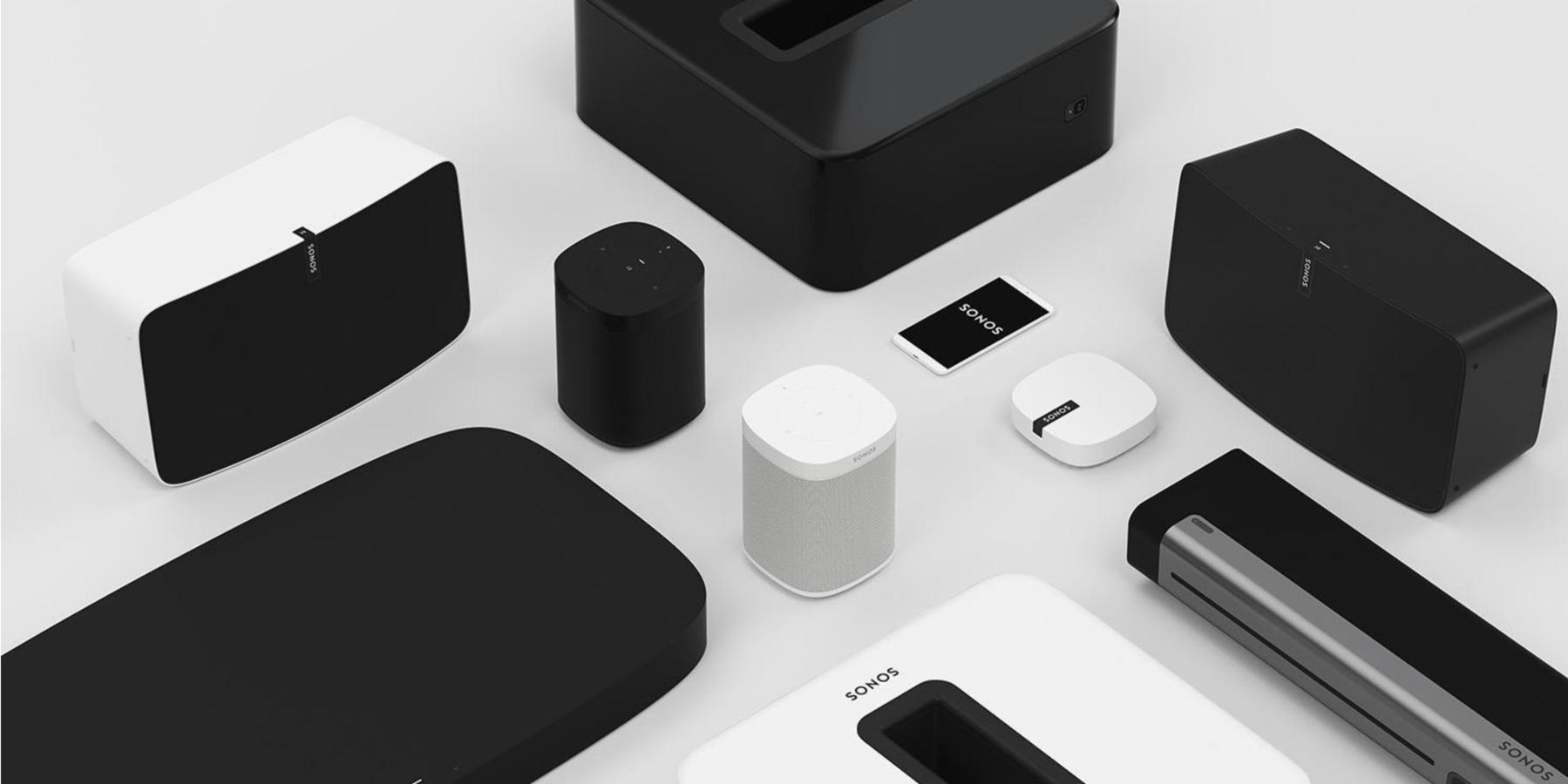 Sonos Aktie - Produktpalette von Sonos im Überblick - Speaker Soundbar Lautsprecher