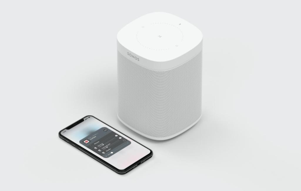 Sonos Home Speaker mit Handy - Bluetooth Sound