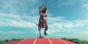 The Digital Leaders Fund zieht am Nasdaq vorbei - Dinosaurier rennt auf Aschebahn