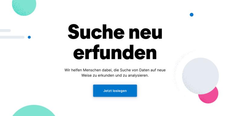 Elastic Aktie - Herausforderer von Splunk - Suche neu Erfinden Banner